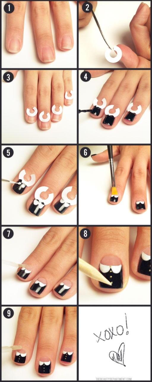 Как делают ногти с картинками