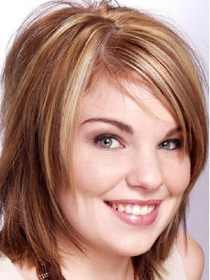 Стрижки для редких волос круглое лицо