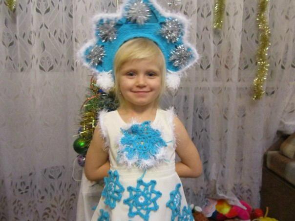 Как сделать костюм снегурочки своими руками из подручных материалов