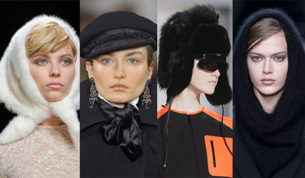 какие головные уборы модны в этом сезоне