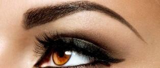 Нужен ли макияж бровей, если брови черные и густые от природы