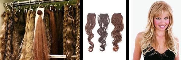 Варианты для наращивания волос