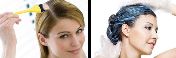 Красить волосы на дому или в парикмахерской