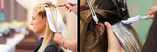 Профессиональная покраска волос в салоне