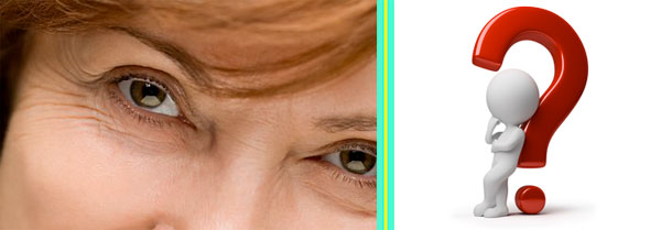 Гусиные лапки возле глаз